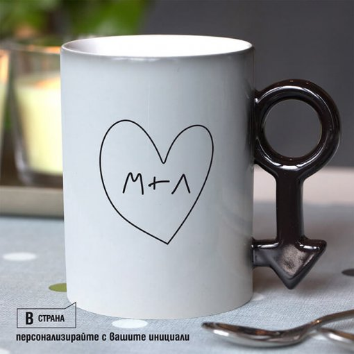 Комплект магически чаши за влюбени