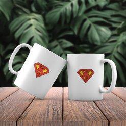 чаша за имен ден с лого