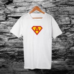 тениска с лого а