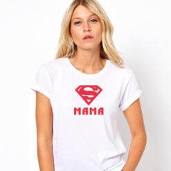 тениска майка супермен