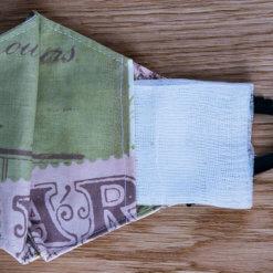 защитна маска с джоб за филтър