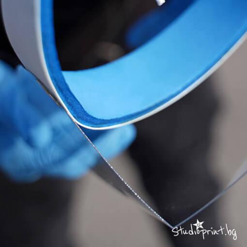 защитен шлем с висока плътност на материала