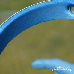 защитен шлем с мека лента за челото с ластик