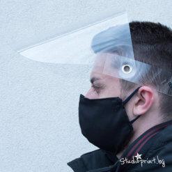 зьащитен шлем с Висока плътност на материала