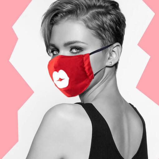 маска за лице с уникален дизайн
