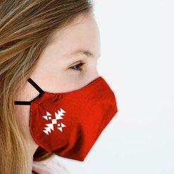 защитна маска с шевица