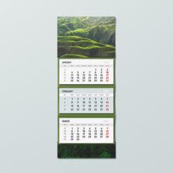 трисекционен календар