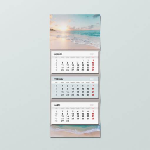календар с 3 тетрадки